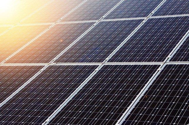 panely solární elektrárny